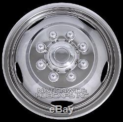 03-18 DODGE RAM 3500 17 Dually Steel Wheel Simulators Dual Skins Liners Covers