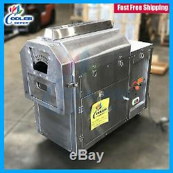 100Lb Capacity Indoor Electric Coffee Nuts Beans Roaster Roasting Commercial