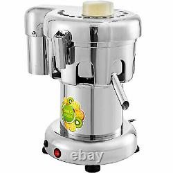 110V Commercial Juice Extractor Stainless Steel Juicer Heavy Duty 370W 60-80KG