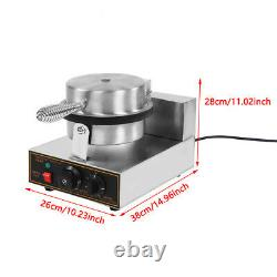 110/220V Commercial Electric Stainless Ice Cream Egg Rolls Cone Maker Machine