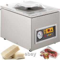 120W Vacuum Chamber Sealer Food Sealing Machine Commercial Packing Machine