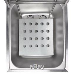12L Electric Dual Tank Deep Fryer 5000W Commercial Restaurant Kitchen Equitment