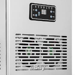 150Lbs Commercial Ice Maker Cube Stainless Steel Bar Restaurant Auto Freezer US