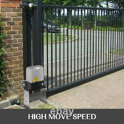 1800LBS SLIDING GATE OPENER REMOTE KIT DOOR MOTOR AUTOMATIC With KEY ELECTRIC