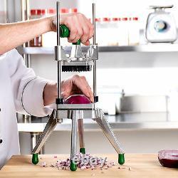 1/4 Vegetable Fruit Dicer Onion Tomato Slicer Chopper Restaurant Commercial NSF
