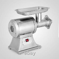 1.5HP Commercial Meat Grinder Sausage With2 plates 2 Knives 450lbs/h