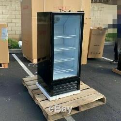 1 Door Glass Cooler Commercial Refrigerator Merchandiser Beverage Cooler