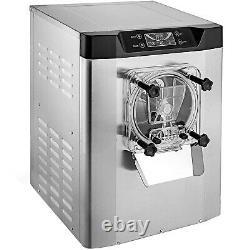 20L/h Commercial Hard Ice Cream Maker Machine CE Microcomputer Cafes copper core