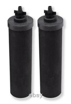 2 Black Berkey Water Filters Replacement Filters Free 2 Day Delivery