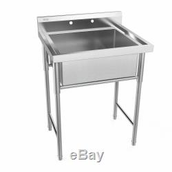 30 New Commercial Grade Stainless Steel Utility Sink Laundry Room Tub Slop Sink
