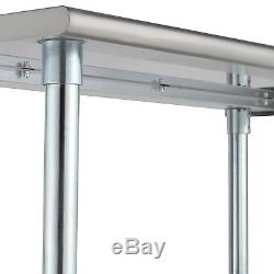 30 x 72 Work Table Stainless Steel Food Prep Commercial Kitchen Restaurant