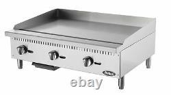 36 Flat Griddle Manual Control Commercial Restaurant Duty Lp Gas Free Liftgate
