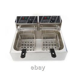 3L Donut Churro Machine Safty Use Manual Maker Spanish Stainless Steel+12L Fryer
