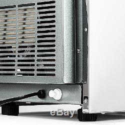 3X8 pcs Built-in Portable Auto Commercial Ice Maker for Restaurant Bar 90lb/24H