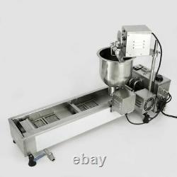 3 Sets Free Mold Commercial Automatic Donut Maker Making Machine, Wide Oil Tank