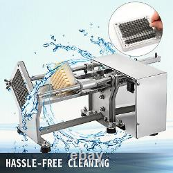 40W Electric Potato Chip Cutter French Fries Cut Slicer Commercial Potato Cutter