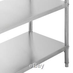 4760Shelves Shelving Heavy Duty Rack Stainless Steel Shelf Commercial Shelf