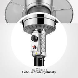 48,000 BTU' Commercial Patio Garden Outdoor Heater Stainless Steel Warmer LP Gas