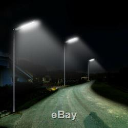 4 Pack 30W Max3000LM Commercial Solar Street Light Outdoor IP65 with Remote