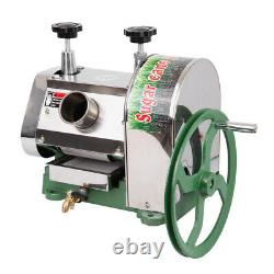50kg/h Manual Sugar Cane Press Juicer Juice Machine Commercial Extractor Mill