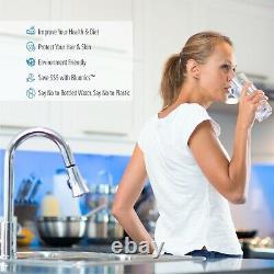 55W Ultraviolet Light UV Sediment & Carbon Well Water Filter Purifier