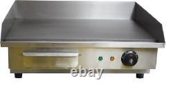 55cm Commercial Electric Table top Griddle 3kW Catering Quantum CE KSL-G55