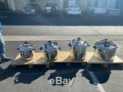 60 QT Pressure Cooker Aluminum Alloy Family Kitchen Tool Commercial Cookware USA