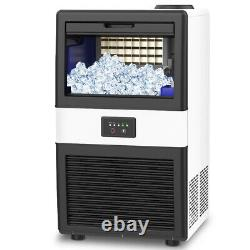 70LBS Built-In Commercial Ice Maker Freestand Undercounter Ice Cube Machine