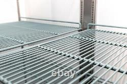 A. C. E. Commercial Reach-In Refrigerator Stainless-Steel Double Solid Door 47CuFt