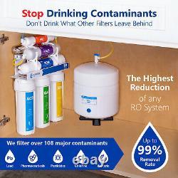 Alkaline Ultraviolet Reverse Osmosis Filtration System RO UV Alkaline 100 GDP