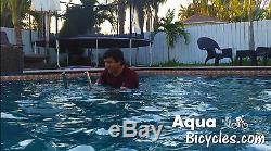 Aqua Bicycle AquaBicycles. Com Stainless Steel Commercial Grade Pool Bike