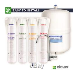 Aquverse Clover Easy-Install Compact Reverse Osmosis Drinking Water Filter Syste