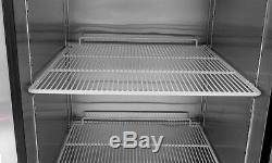 Atosa Single One Door Stainless Steel Refrigerator Commercial Restaurant Cooler