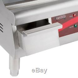 Avantco 16 Electric Commercial Countertop Steel Flat Top Griddle Grill 120V