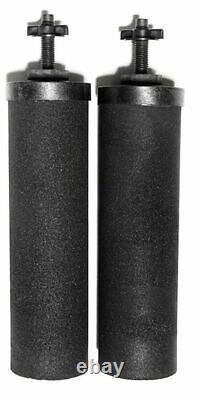 Berkey Black Water Filter Replacement Cartridge Purification Elements BB9-2