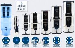 Berkey Light Water Filter Purification Sys w 2 Black Filters w Warranty