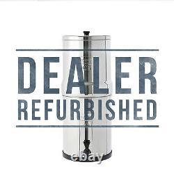 Berkey Travel BT2X2BB With2 New Black Filters Water Filter DEALER REFURBISHED