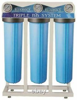 Bluonics 110W UV Ultraviolet Light + Sediment & Carbon Well Water Filter System