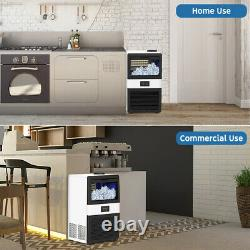 Built-In Ice Maker Machines Commercial Ice Cube Machine Undercounter Freestand