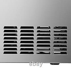 Built-in Commercial Ice Maker Stainless Steel Bar Restaurant Ice Cube Machine