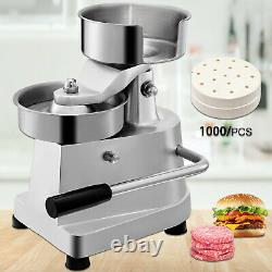 Burger Press Hamburger Patty Maker 5-Inch Diameter Burger Press Commercial