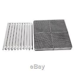 Commercial 10 Tray Stainless Steel Food Dehydrator Fruit Meat Jerky Dryer Blower