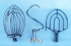 Commercial 20 QT Mixer with Stainless Steel Beat, Hook and Whip