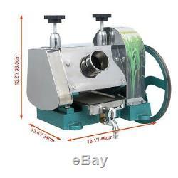 Commercial 50Kg/h Sugar Cane Ginger Press Juicer Juice Machine Extractor Mill