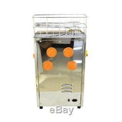 Commercial Auto Feed Orange Juicer Squeezer Stainless Steel Orange Juice Machine