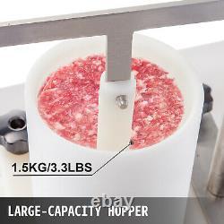 Commercial Burger Press Commercial Hamburger Patty Maker 4.3-Inch Burger Machine