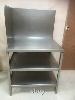 Commercial Catering Kitchen Prep Workbench Stainless Steel Food Shelf Work Table