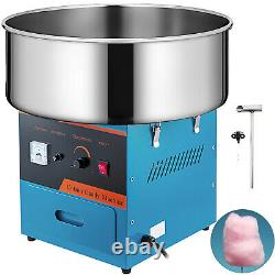 Commercial Cotton Candy Machine Sugar Floss Maker Party Carnival Electric Blue
