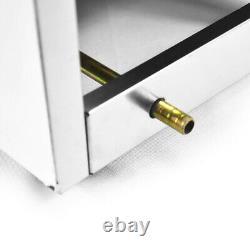 Commercial Countertop 10L Gas Fryer Single Basket GF-71 Propane (LPG) & Hose