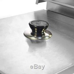 Commercial Countertop Gas Fryer 2 Baskets Deep Fryer GF-72 Propane(LPG) 10L2
